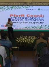 Secretário Paulo Henrique Lustosa participa de Encontro Internacional PforR Ceará