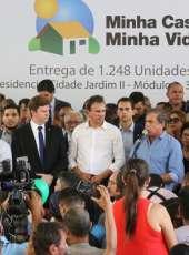 Mais de 1.200 famílias são beneficiadas no Residencial Cidade Jardim II