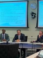 Secretaria das Cidades compartilha experiências em evento internacional Water Week, nos EUA