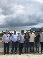 Rio Maranguapinho: Secretário Zezinho Albuquerque visita Trechos de Urbanização