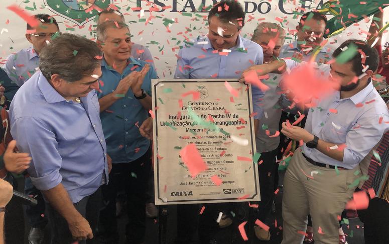Governo do Ceará inaugura trecho urbanizado do Maranguapinho