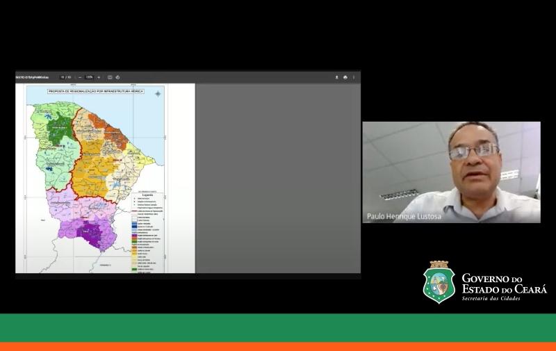 SCidades realiza Audiência Pública sobre Criação das Microrregiões de águas e esgotos, no Ceará