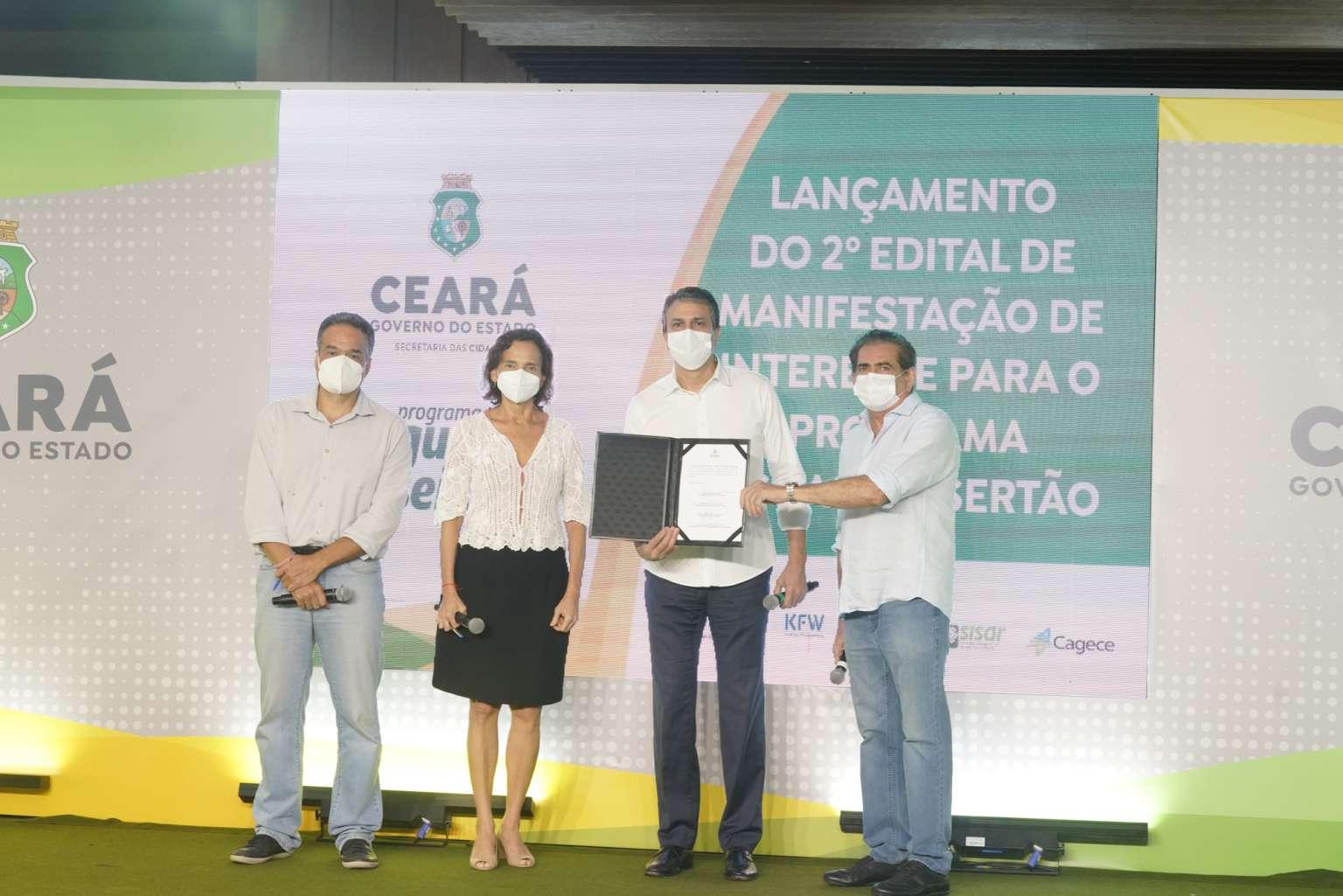 Governo do Ceará lança segundo edital do Programa Águas do Sertão para beneficiar a população rural
