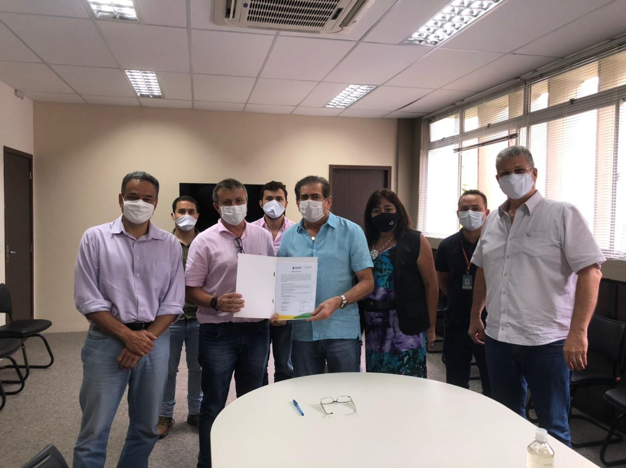 Assinada OS do Rio Maranguapinho, Trecho II/ME